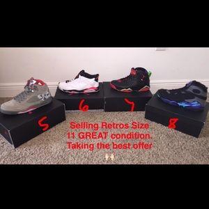Jordan Shoes - Jordan Retro 5/6/7/8